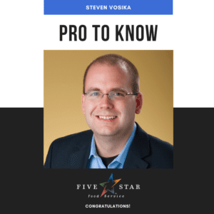 Steven Vosika Pro to Know